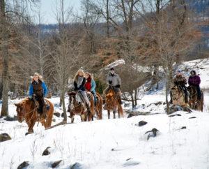 Dude Ranch Horseback Riding in Arkansas