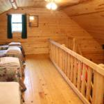 4 twin beds in cabin