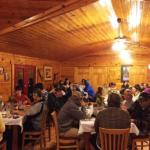 dining in the lodge