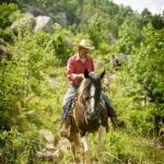 Barry horseback riding