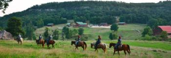 Family Dude Ranch & Lodging in Arkansas | Horseshoe Canyon Ranch