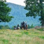 horseback riding at Horseshoe Canyon Ranch
