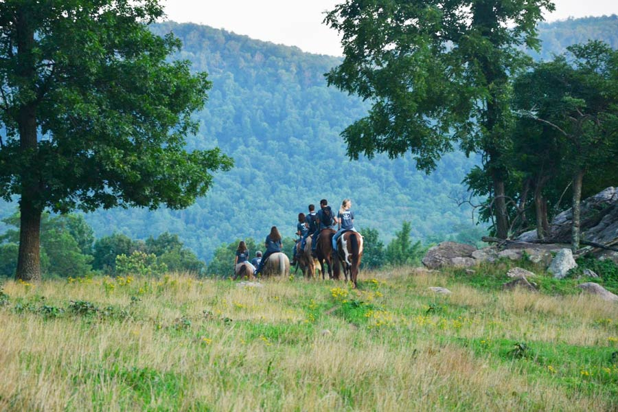 Horseback Riding in AR - Ozark Mountain Trail Horses